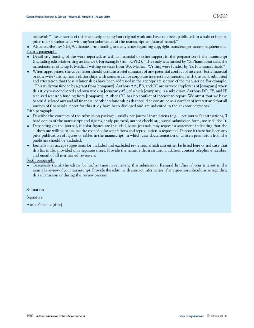 british medical journal cover letter Core25 journals this is a list of 25 bmj: british medical journal cell circulation development febs letters genes & development jama: journal of the american medical association jbc: journal of biological chemistry jmb: journal of molecular biology.